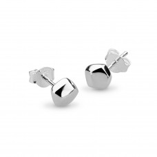 Kit Heath Silver Coast Rokk Small Stud Earrings