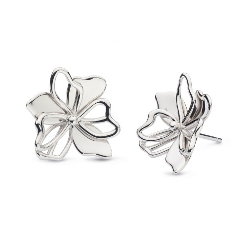 Kit Heath Silver Blossom Full Bloom Stud Earring