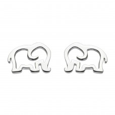 Dew Stu Dinky Elephant Studs Earrings