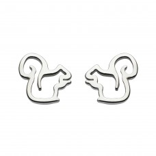 Dew Stu Dinky Oh Nuts Squirrel Studs Earrings