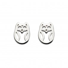 Dew Stu Dinky Little Owl Studs Earrings