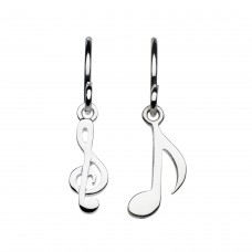 Dew Stu Musical Notes Drop Earrings