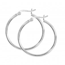 Dew Dro 30mm Hoop Earrings