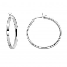 Dew Dro Large 35mm Hoop Earrings