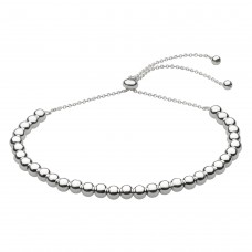 Dew Silver Ball Toggle Bracelet