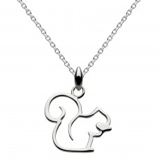 Dew Silver Oh Nuts Squirrel Pendant