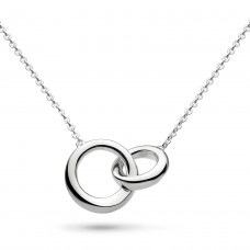 Kit Heath Silver Bevel Cirque Necklace