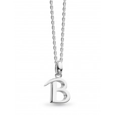 Kit Heath Silver Signature Classic B Necklace