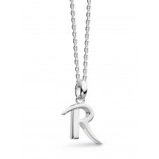 Kit Heath Silver Signature Classic R Necklace