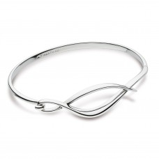 Kit Heath Silver Entwine Twine Twist Bangle
