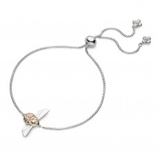 Kit Heath Silver And Gold Plate Blossom Flyte Queen Bee Bracelet