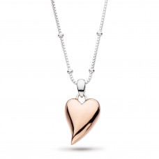 Kit Heath Silver Rose Gold Plate Desire Lust Necklace
