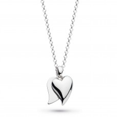 Kit Heath Silver Love Duet Small Necklace