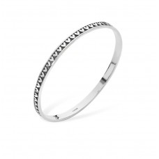 Linda Macdonald Silver Heart Bangle