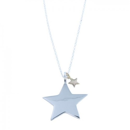Reeves & Reeves Silver Star Necklace