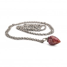 Fantasy Necklace with Ruby, 90cm