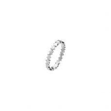 Virtue Silver Orions Belt Stacking Ring