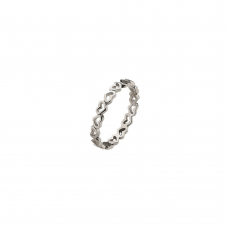 Virtue Silver Juliet Stacking Ring