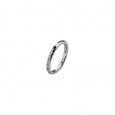 Virtue Silver Mother Stacking Ring