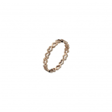 Virtue Rose Gold Plate Juliet Stacking Ring