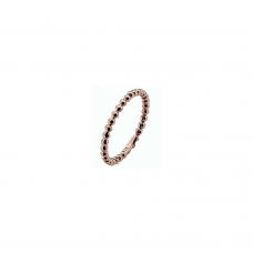 Virtue Rose Gold Plate Polka Stacking Ring