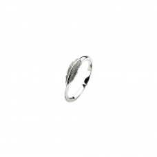 Virtue Silver Flight Stacking Ring