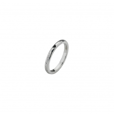 Virtue Silver Daughter Stacking Ring