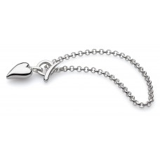 Kit Heath Silver Desire Lust T-bar Bracelet