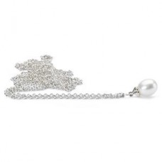 Fantasy Necklace With White Pearl 90 cm / 35.4 in