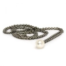 Fantasy Necklace With White Pearl 100 cm / 39.4 in