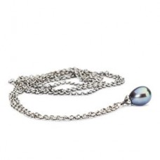 Fantasy Necklace with Peacock Pearl 110 cm / 43.3 in