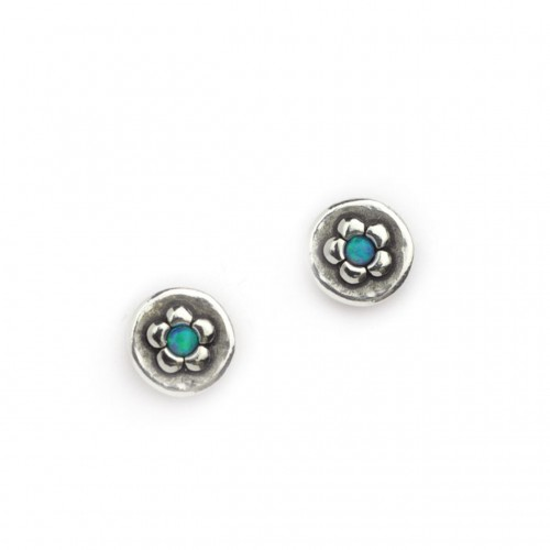 Aviv Daisy and opal studs