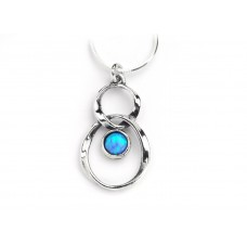 Aviv Figure Of Eight Opal Pendant